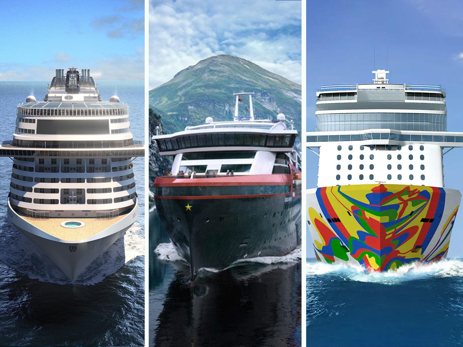 Les nouveaux navires de croisière lancés en fin 2019